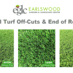 Image for the Tweet beginning: Artificial Turf Off-Cuts & End