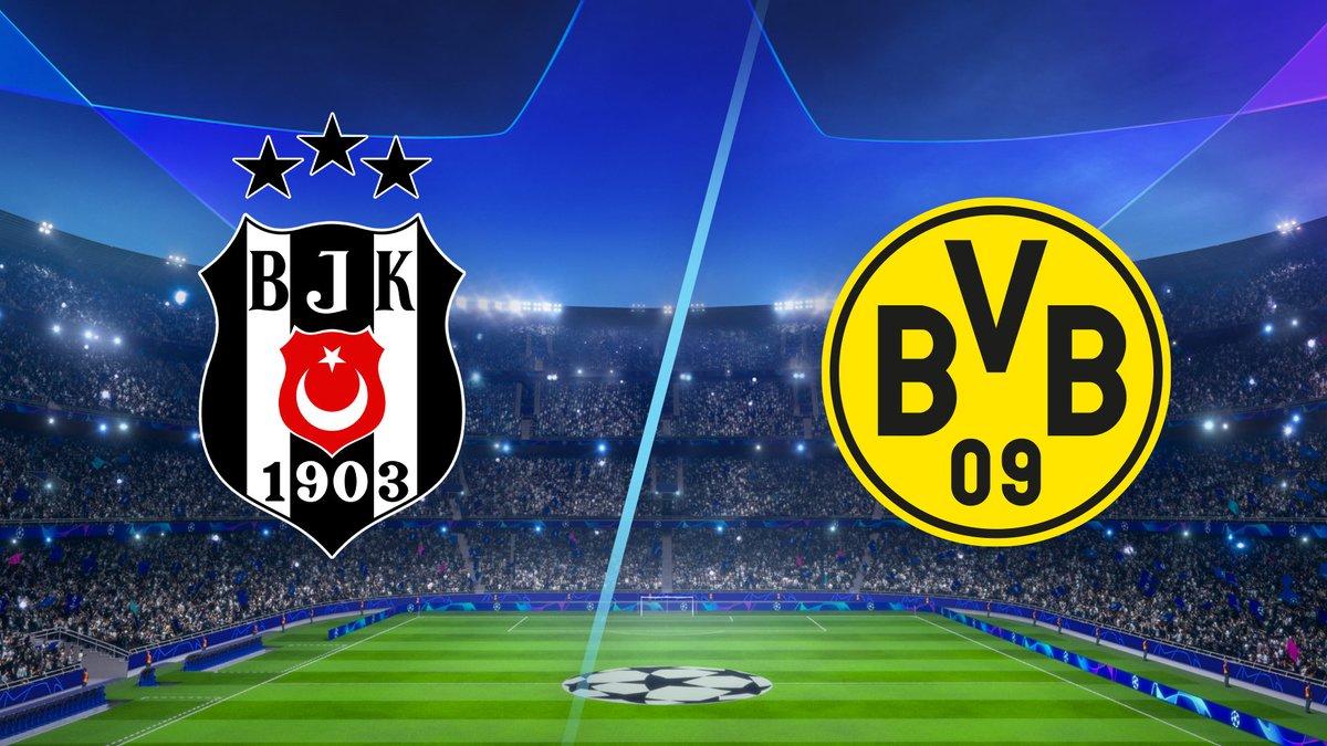 Besiktas vs Dortmund Full Match & Highlights 15 September 2021
