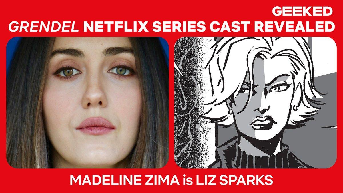 "Netflix Geeked on Twitter: ""Madeline Zima plays Liz Sparks… """