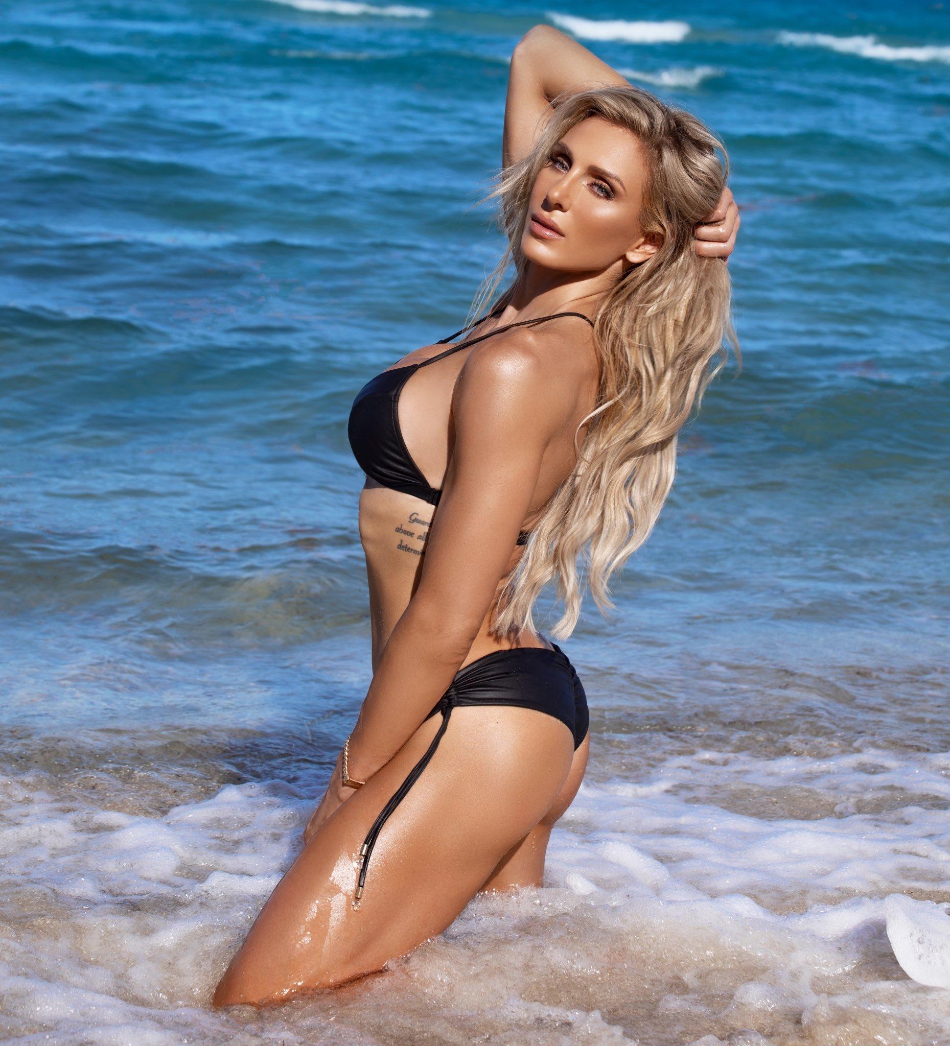 Charlotte Flair Trolled By WWE Star Alexa Bliss Over Latest Bikini Photo 50
