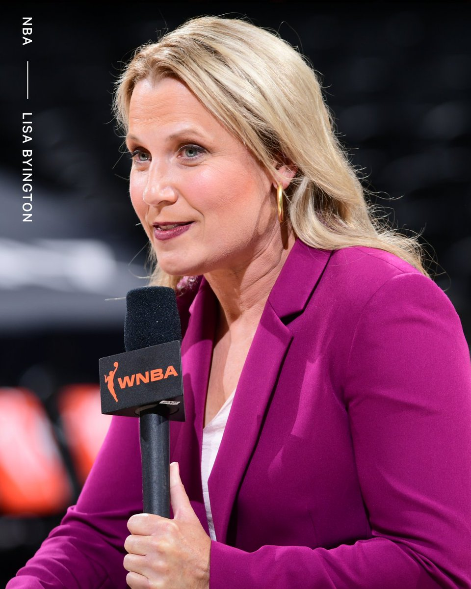 Lisa Byington has been named the TV play-by-play announcer for the Milwaukee Bucks She is the first female full-time TV play-by-play announcer for a major men's professional sports team.