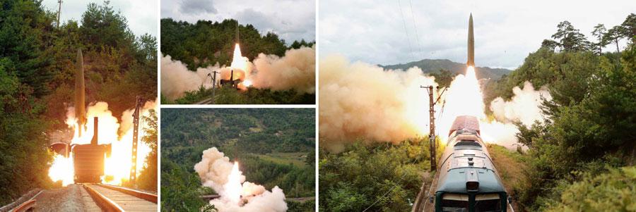 Rail-mobile ICBM