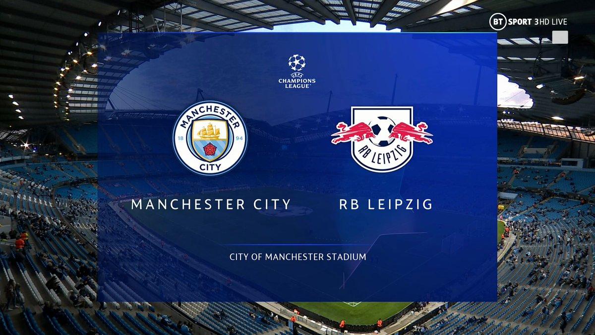 Full match: Manchester City vs RB Leipzig