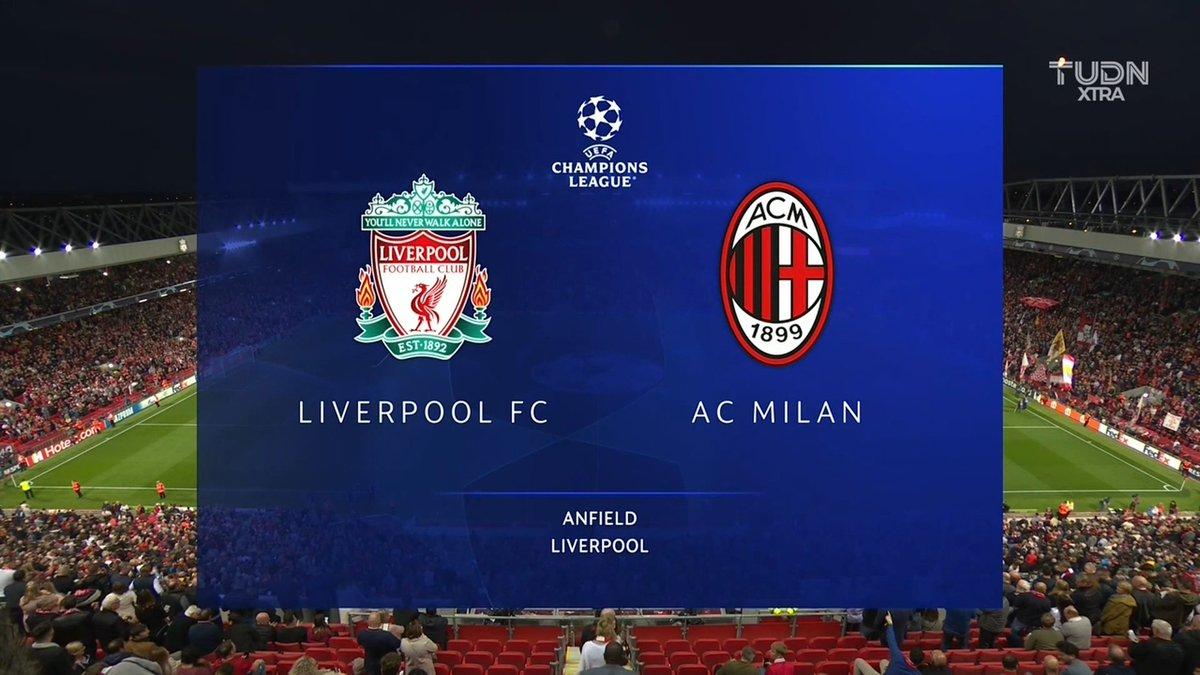 Full match: Liverpool vs AC Milan