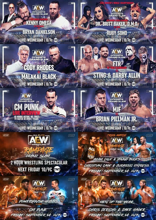 AEW Dynamite: CM Punk's Next Match Announced For Rampage 1