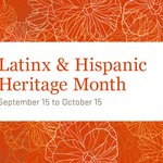 Image for the Tweet beginning: During Latinx & Hispanic Heritage