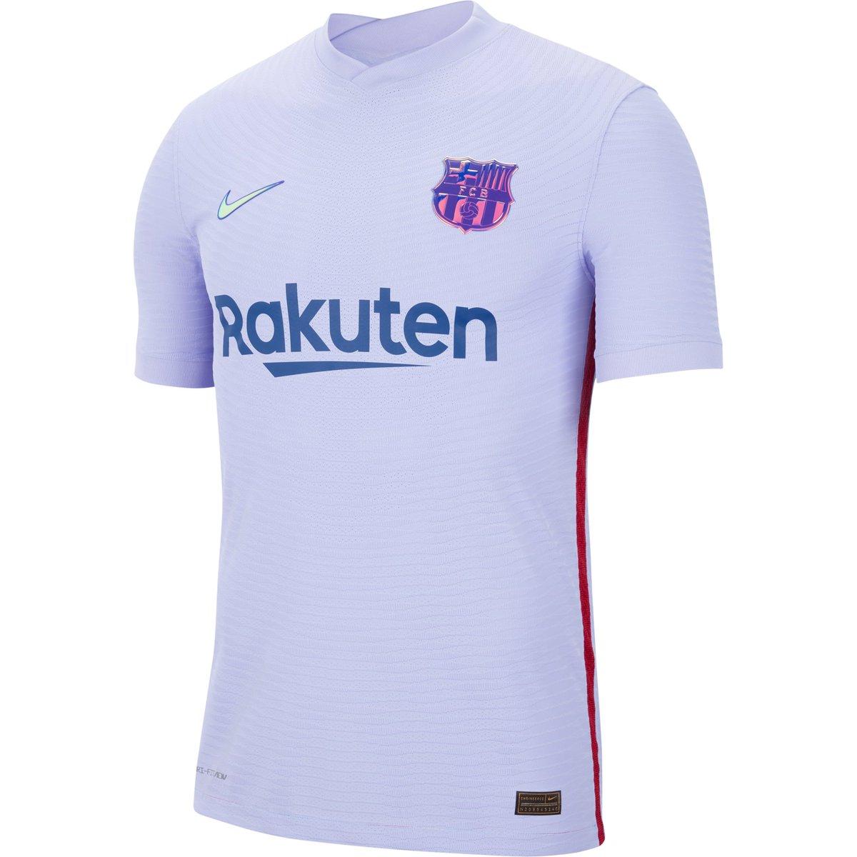 Segunda camiseta Nike de FC Barcelona 2021-22