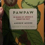 A wonderful evening lecture by @thepawpawbook , delicious #pawpaw tasting & book signing at @AtlBotanical !
