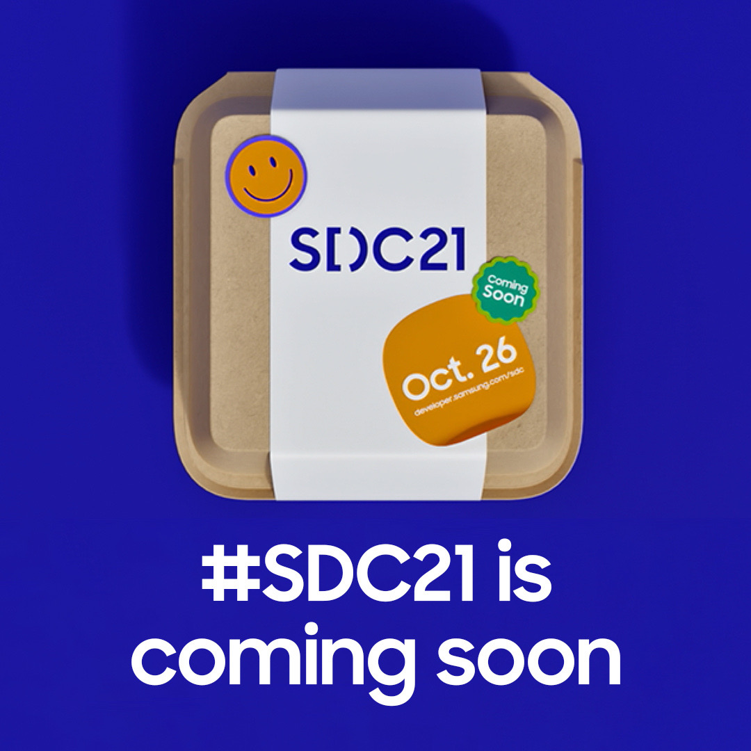 Counting down the days until the first online SDC. We're cooking up something new for #SDC21 on October 26th. Stay tuned for more info and get a first look at the event here: https://t.co/b67Z82qX9h https://t.co/6x2DWrTXvA