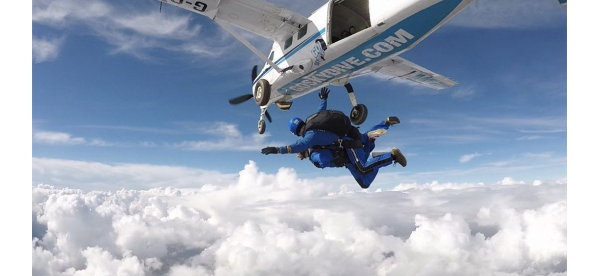 Not long to go now until the team at @Botley38 take the leap for their @firefighters999 charity sky dive!  You still have time to show your support for the team and for Rory following his epic running challenge, over on their Just Giving page below 👇   🚒🏃♂️🛩🪂