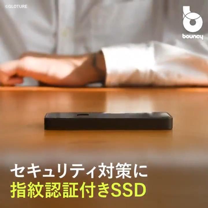 コンパクトなボディに強固なセキュリティ!指紋認証付きポータブルSSD「OneModern M8」 by ©︎GLOTURE詳しくはこちら👉#ポータブルSSD #セキュリティ