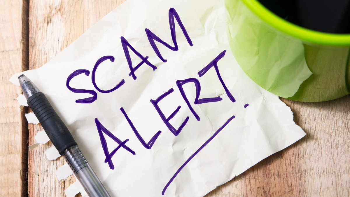 Please be aware of below scam.  We ask all our tenants to be vigilant. https://t.co/GxmbBcJZy9