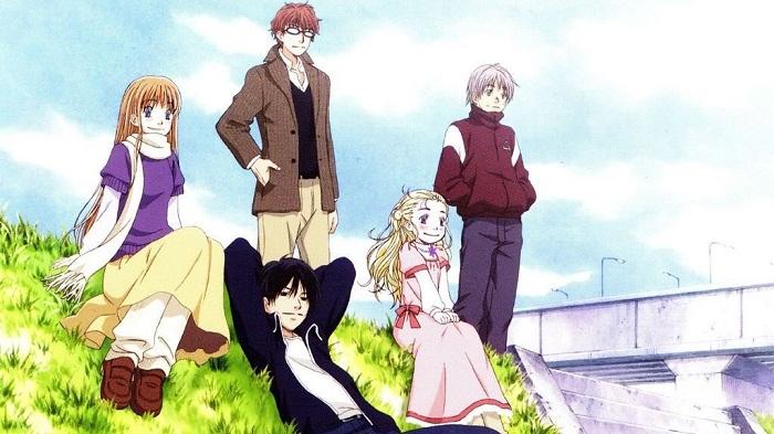 Hachimitsu to Clover (Honey and Clover) anime