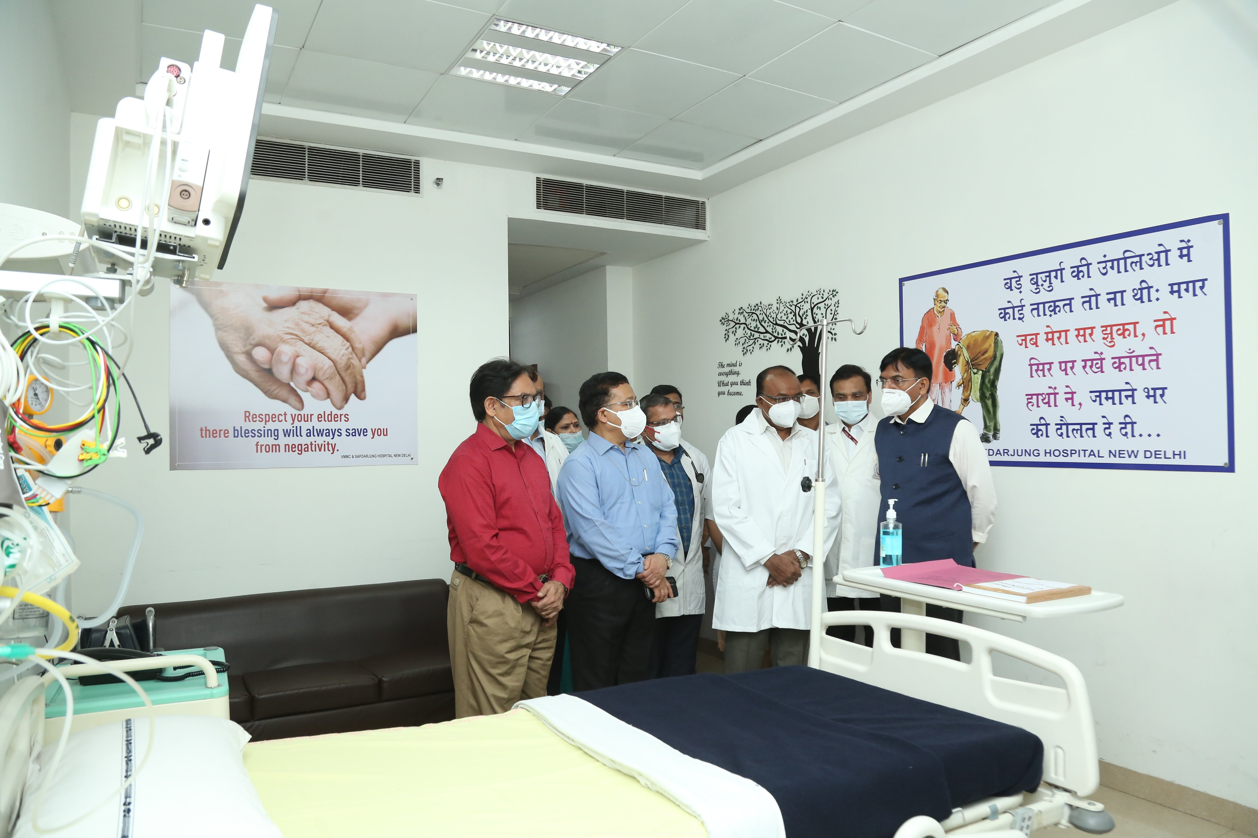 Health Minister inaugurates many patient-centric facilities at Safdarjung Hospital