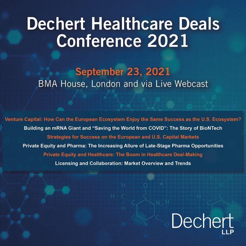 test Twitter Media - ⏰Don't forget to register!  📅1 week today: @dechertllp's Healthcare Deals conference (11:30 a.m. – 7:30 p.m. BST)  🎙️Full speaker lineup: https://t.co/oijgUDHNrk  ✔️RSVP: https://t.co/CUmN3sAwt1 https://t.co/ceeSmlspGi