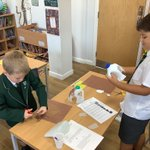 Year 3's milk bottle mammoths are beginning to take shape! All of their new knowledge on instructional writing should help them to create each part of their prehistoric creatures. @SHSBoysPrep @TraceyChongSHS