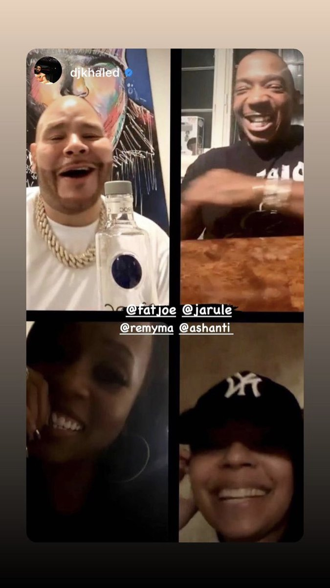 RT @keencolo: This right here is a whole lotta New York in one video! @ashanti @RealRemyMa @jarule @fatjoe 🗽 https://t.co/F24MGChH9T