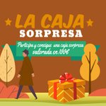 Image for the Tweet beginning: ¡Gana nuestra caja sorpresa de