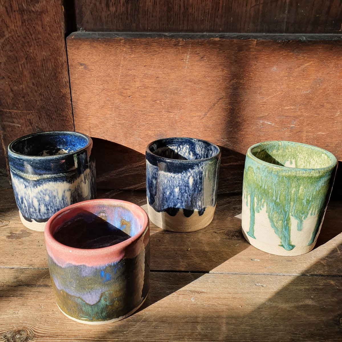 Our in-gallery shop will return on 9 October, but you can still browse our online shop for beautiful gifts, cards, homeware and more. These beautiful ceramic pots were made by local ceramicist, Alice Carter Ceramics. View the full collection online: fabrica.org.uk/shop
