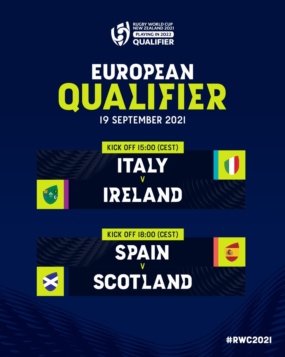 test Twitter Media - All eyes on �������� � 👀  📺 The second round #RWC2021 Europe Qualifier Tournament matches will be shown on our Twitter and Facebook pages, on @WorldRugby YouTube and at https://t.co/KpNbgqv0CE https://t.co/FwXMOaywbL