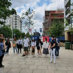 Image for the Tweet beginning: Our #UCL_HWSB @UCL_IEDE students visited