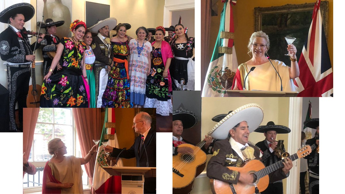 test Twitter Media - A joy to toast the #Bicentennial of #Mexico with HE @josefagbom & friends at @Embamexru - a #Fiesta celebrating #Friendship, #Fashion, #Food, #Film with #Margaritas & a #Mariachi singalong 👇 'Interpersonal diplomacy' at its best. Mil gracias a todos! #MexicanIndependenceDay 🇲🇽🥂 https://t.co/0USu3UuXPT