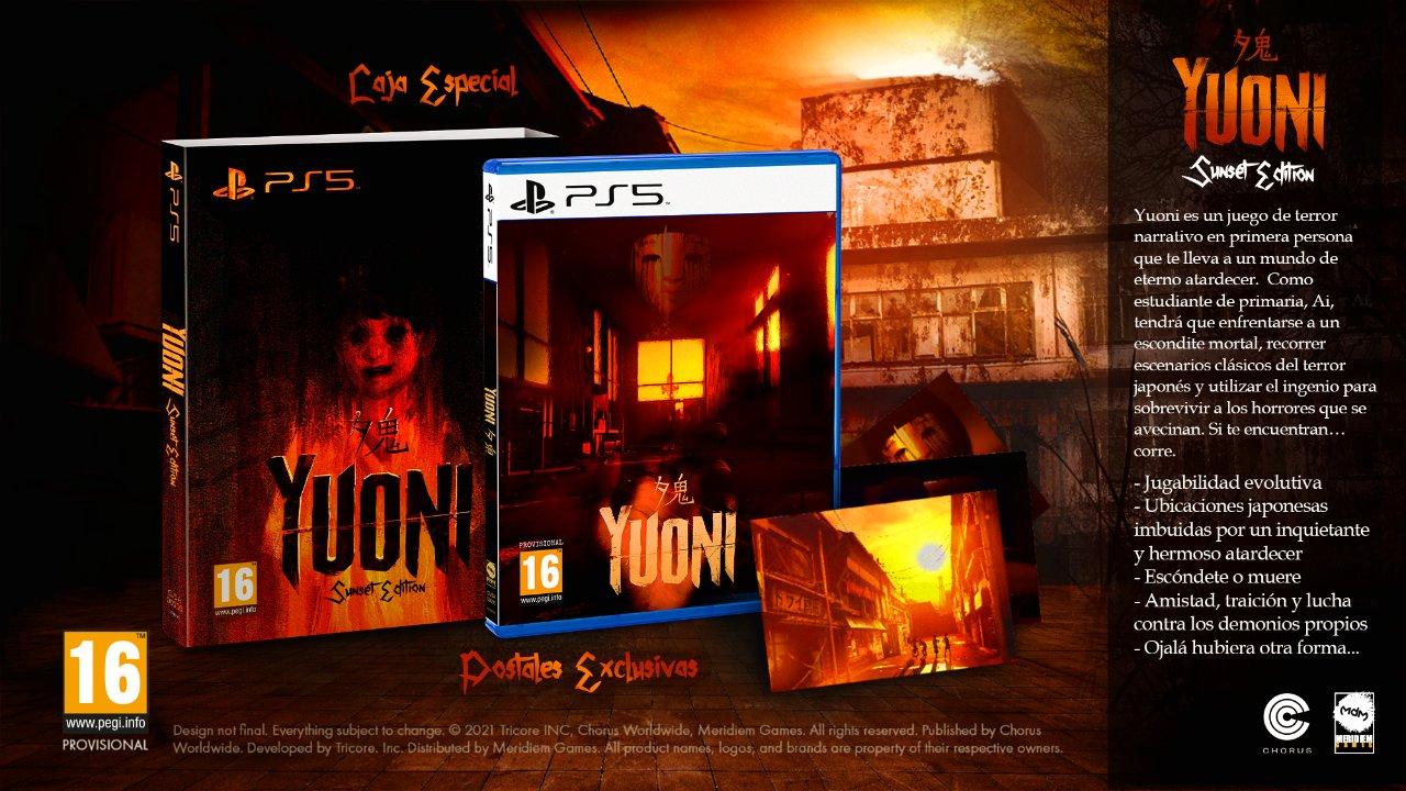 Yuoni saldrá en PlayStation 5
