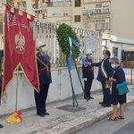 Image for the Tweet beginning: #Società #Commemorazione Palermo, Orlando omaggia