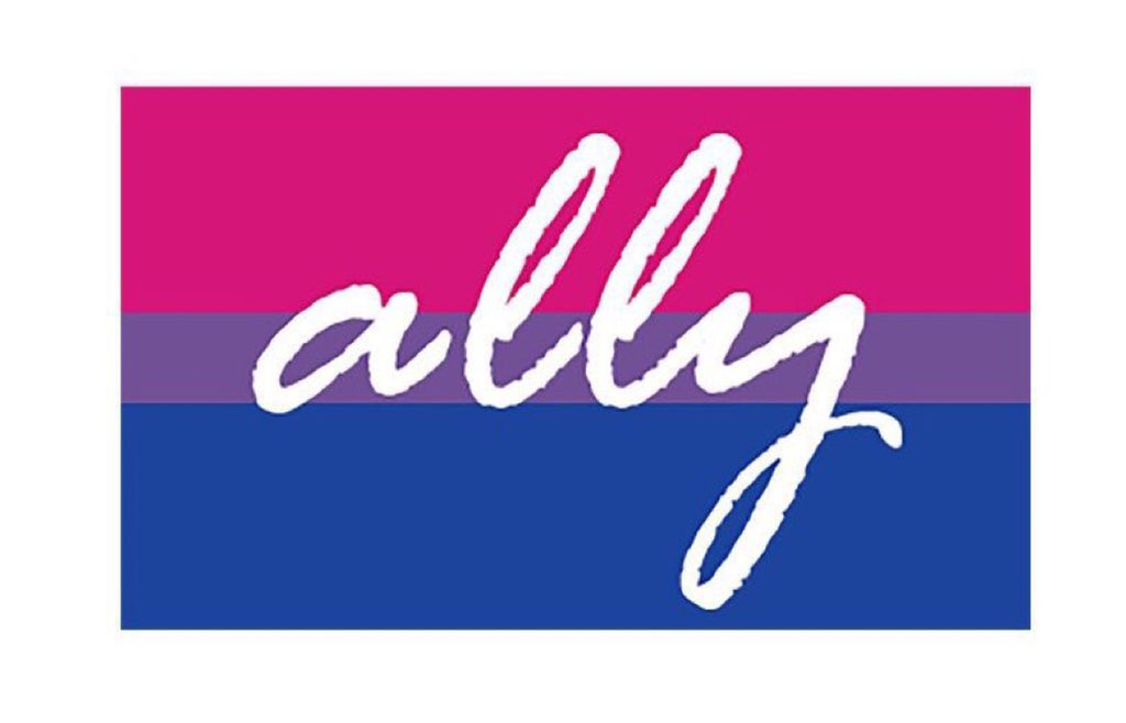 I am a proud ally.