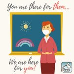 Image for the Tweet beginning: Teachers, you give so much