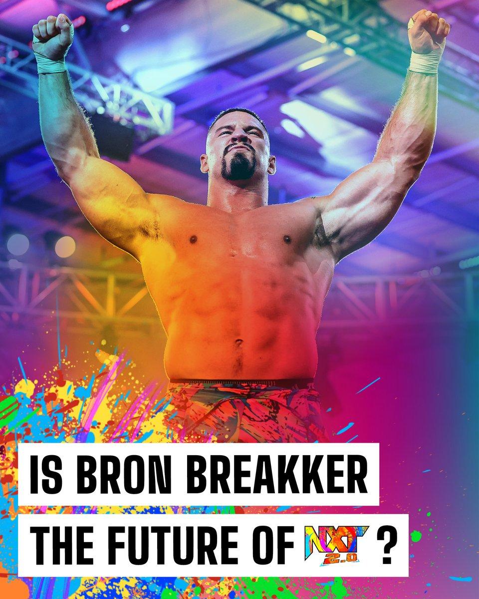 Discuss. ⤵️ #WWENXT @bronbreakkerwwe https://t.co/BNGqPyfoT6