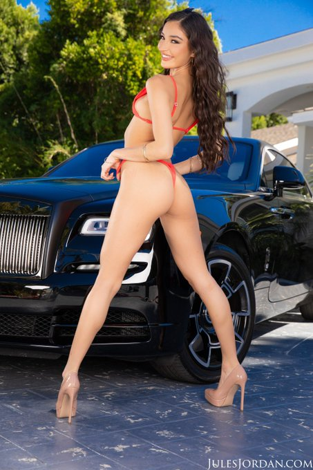 2 pic. Naughty anal car wash 🖤💥😏😏  Out now on @JulesJordan https://t.co/gNWCxHH3t9