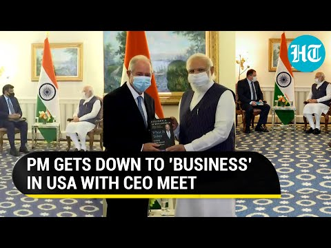 Image for the Tweet beginning: WATCH | PM Modi kick-started