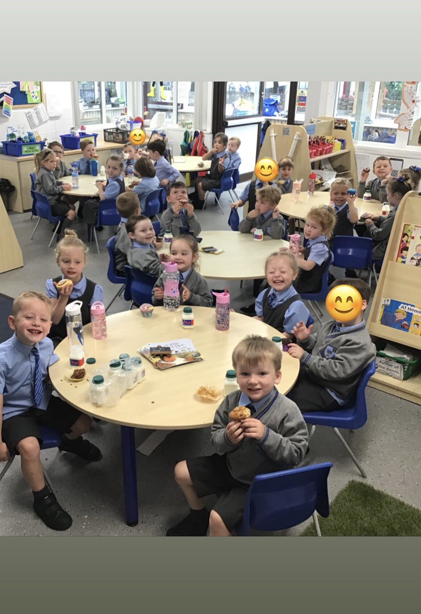 We thoroughly enjoyed our cake morning to raise money for Macmillan charity. We thank everyone for their generosity with cakes & donations. 🧁  @StJBoscoPrimary #MacmillanCoffeeMorning