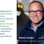 Image for the Tweet beginning: Le président-directeur général du Port