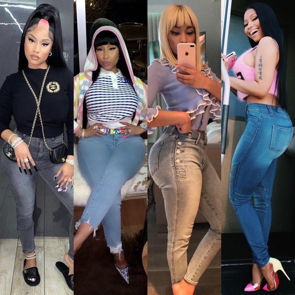 RT @qweensleeze: Nicki Minaj in jeans appreciation https://t.co/V5j3F0Te7C