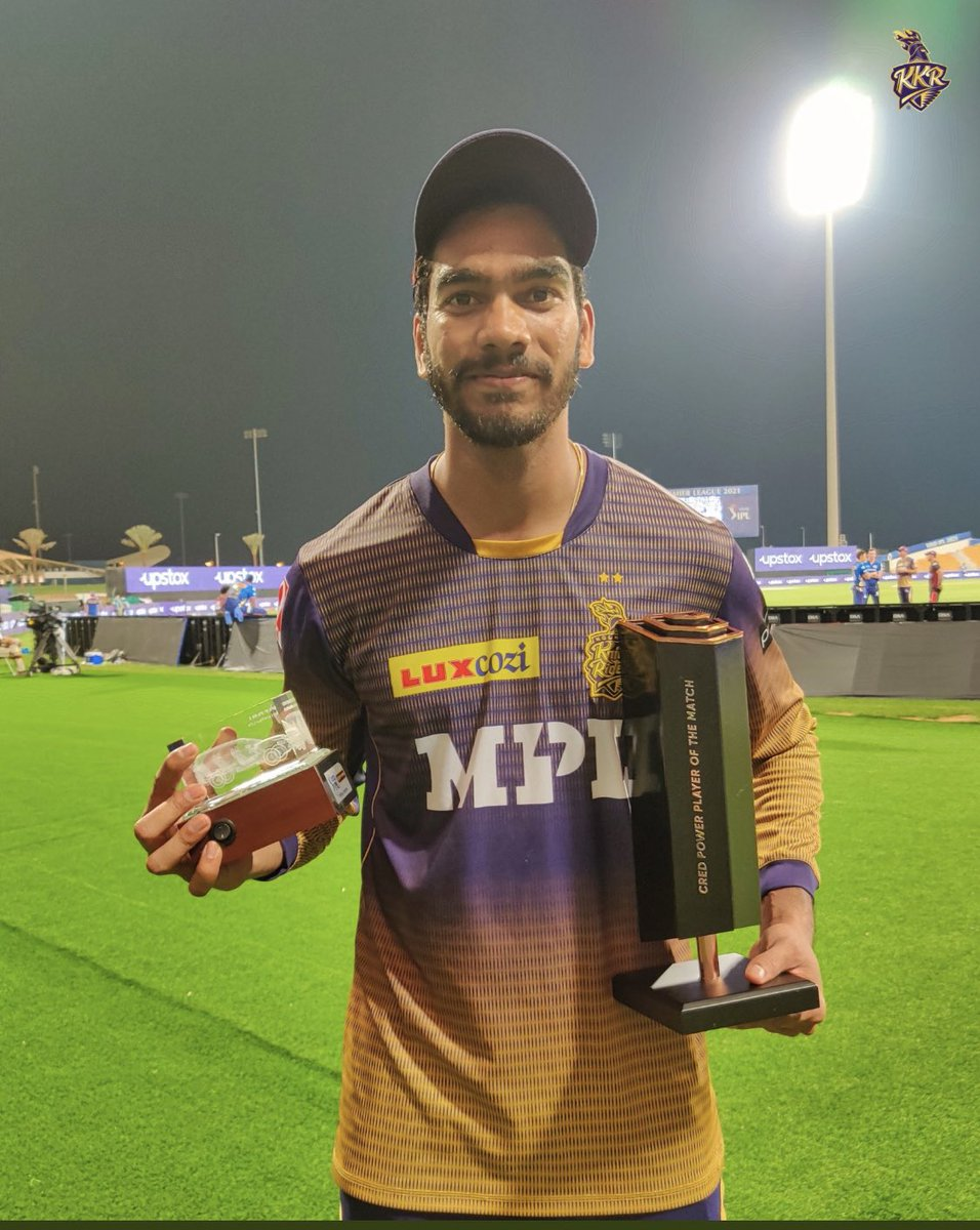 Surely we are karbo larbo jeetbo re💥💥💥💥💥 well done #vankyiyer @ShubmanGill set the tone and our most hardworking @tripathirahul52 what an Inn.. bowlers were outstanding from 70-0 to restricting them to 155 was a great efforts.. ✅💪@KKRiders @IPL https://t.co/aho71BSJYt