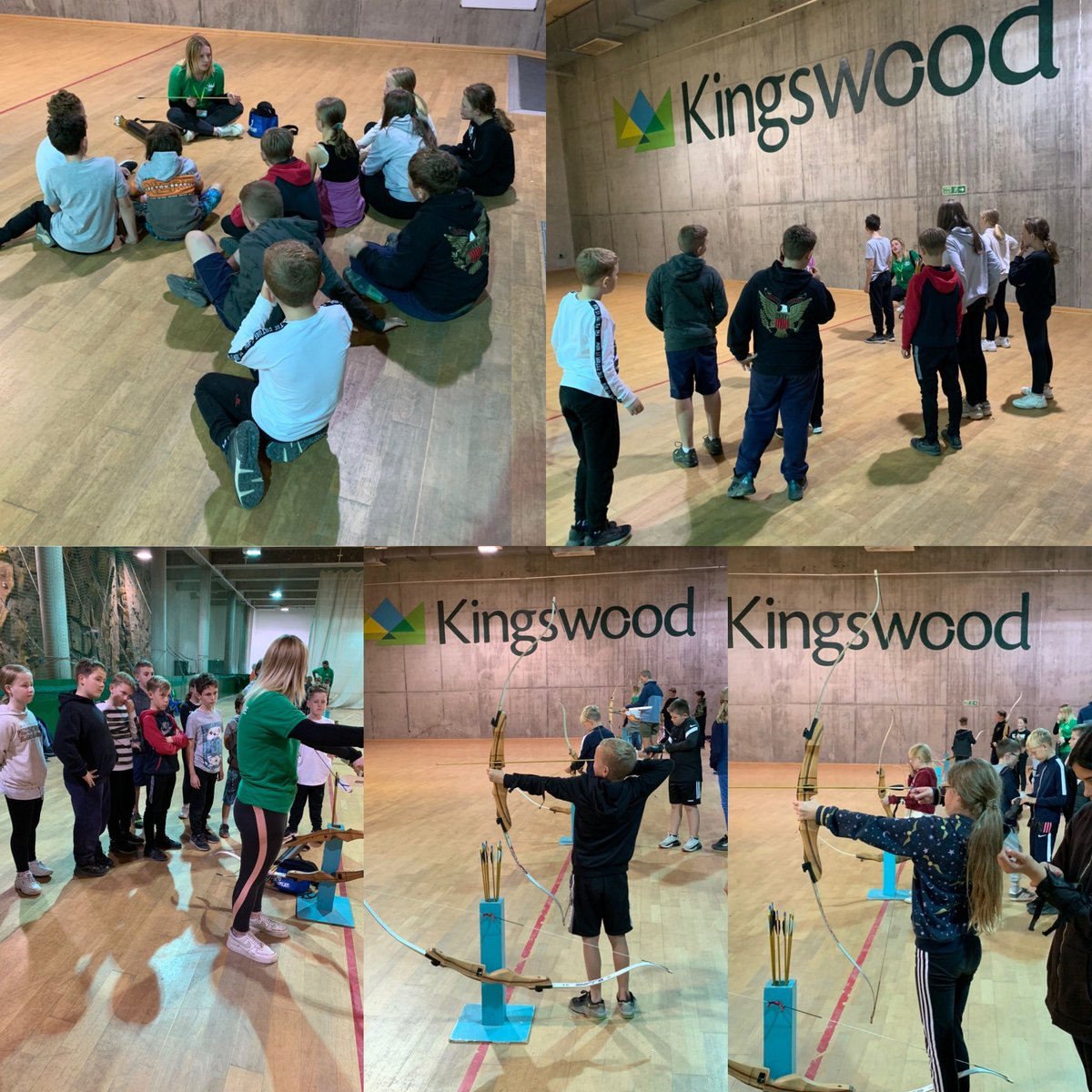 Groups 2 and 3 had a go at archery and crate stack this afternoon. Again, it was lovely to see the children encouraging each other and working together as a team.