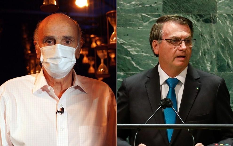 Drauzio Varella condena ações de Bolsonaro na pandemia e em NY: 'Escárnio' > https://t.co/a5cgaP44wX https://t.co/2NjvrKOKfz