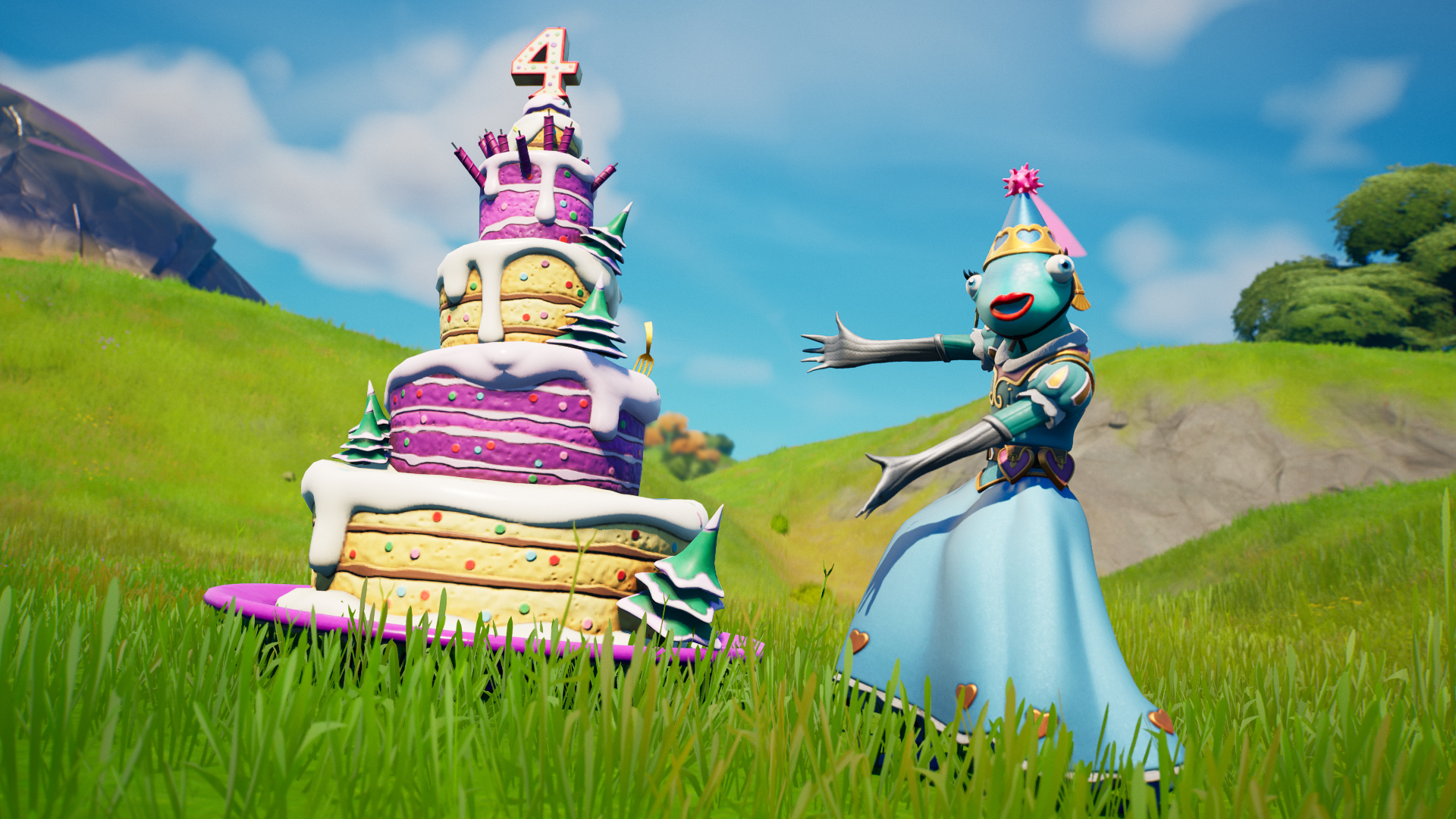 Fortnite Birthday celebration