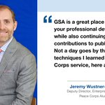 The people of GSA series highlights individuals from our mission-ready workforce. Jeremy Wustner-Brown is a Deputy Director, Enterprise Outreach in Washington, DC. #ThePeopleOfGSA  ▶️ Learn more: https://t.co/3lSICcS25S