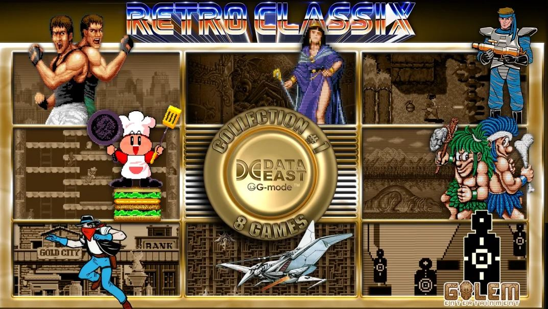 Retro Classix Collection #1: Data East (S) $4.99 via eShop.