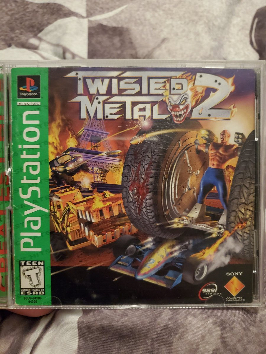 @GFUELesports Twisted Metal 2 is amazing to this day https://t.co/m56R8L47hH