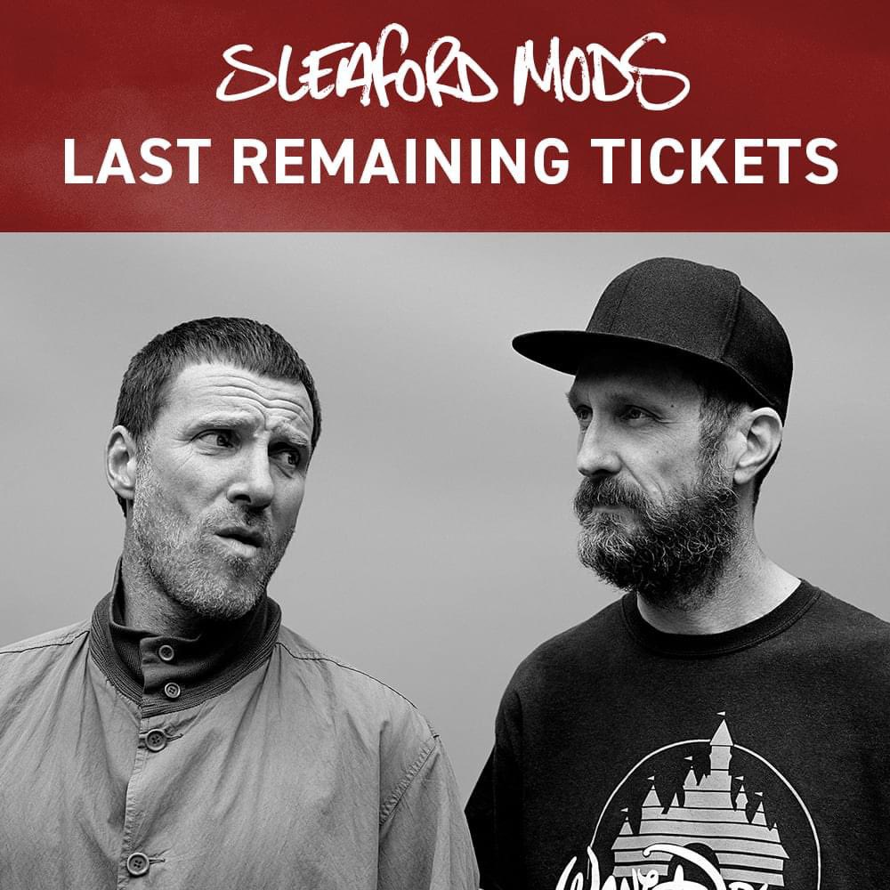 A heads up to all you @sleafordmods fans, we're running low on tickets for their show at @belfastEmpire on 22nd November. Last remaining are available from openhousefestival.com/year-round-sho…