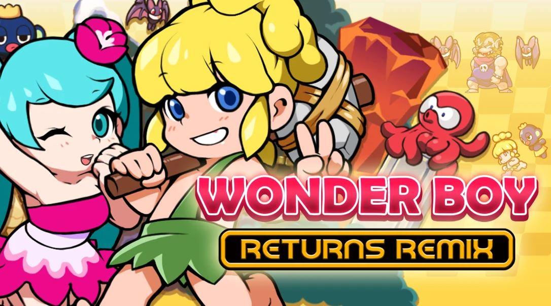 WONDER BOY RETURNS REMIX (S) $7.49 via eShop.