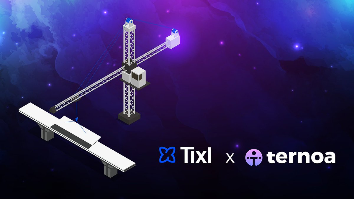 ✅ Binance bridge done ✅ Elrond bridge 30% complete ✅ Solana bridge 80% complete  🤝 Ternoa is now teaming up with @TixlOrg to speed up our cross-chain bridge creation process, accelerating the #TernoaChain's interoperability with other blockchainecosystems!