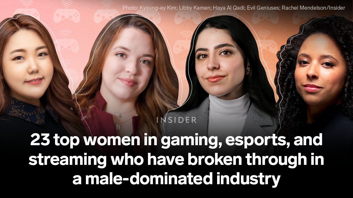 The esports and gaming category is one of the biggest in digital media — The global gaming market is forecast to worth $256.97 billion by 2025. And also one that faces a lack of gender diversity. #DiversityandInclusion