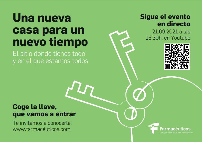 """test Twitter Media - Acte de presentació de la nova web de @Farmaceuticos_ : """"https://t.co/aM0lcntAXa""""  📅 21/9/21 a les 16:30 👉https://t.co/SojxwfSXc4  ➕ℹ👉https://t.co/Ueac8VeSYr https://t.co/braB6fs5KC"""