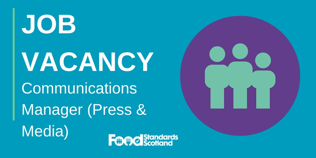 Do you have an eye for news? We're looking for a Communications Manager (Press and Media) with good knowledge of the Scottish and UK press who will be responsible for proactively building a positive reputation for FSS through the media. Apply here: bit.ly/2zLD3sv #FSS