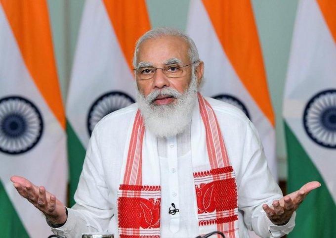 Happy Birthday to India\s Raja Rishi, Hon\PM Thiru Narendra Modi God bless
